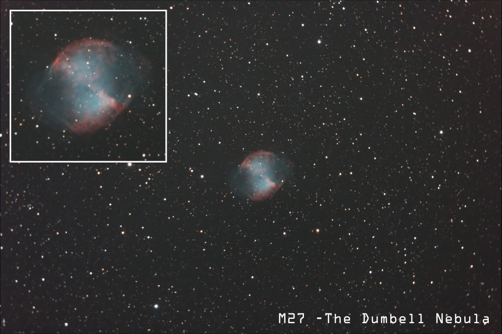 M27 - The Dumbell Nebula