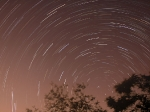 Startrails Over Scranton